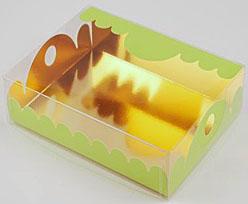 box Marquis rectangular large vert pomme laque