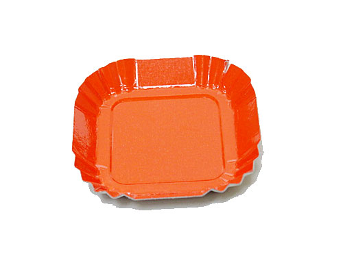 Bordje square 55x55mm orange