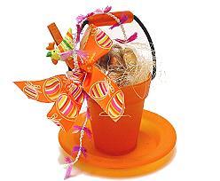 Deko Bucket and Plate orange