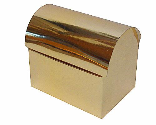 koffer 250 gr 105x75x87mm shiny gold