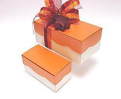 Golfdoos 250gr 120x60x50mm orange