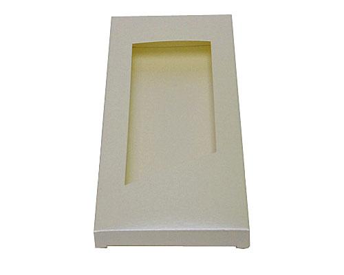 Box for chocolate bar nm ivorytwist