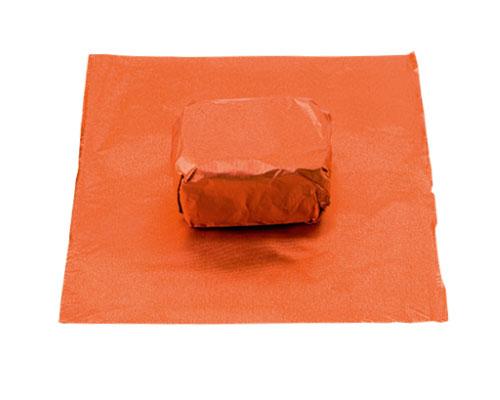 alu sheet 600x400mm orange no. 28 /100 sheets