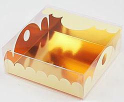 box Marquis square small creme laque