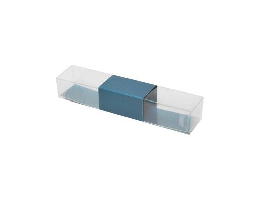 PVC L150xW30xH25mm sea blue with sleeve