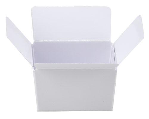 Box 1 choc, Duomat white- Shiny white