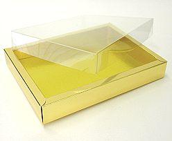Windowbox 175x125x24mm interior shiny gold