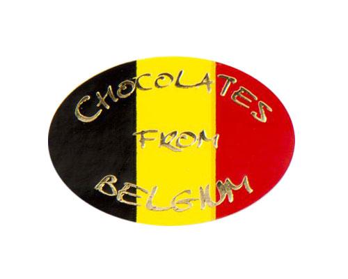 label chocolates from belgium 500pcs