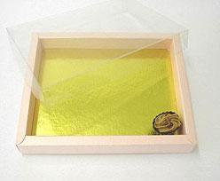 Windowbox 175x125x24mm interior pink