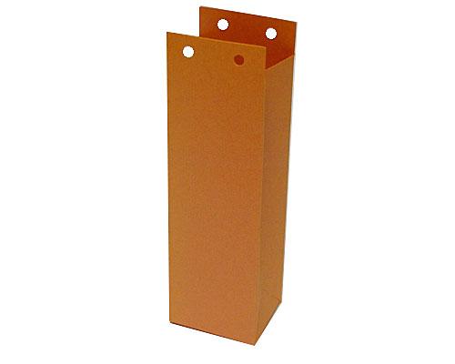 Hoog zakje open 50x40x155mm orange