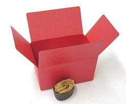 Ballotin, 125 gr. red