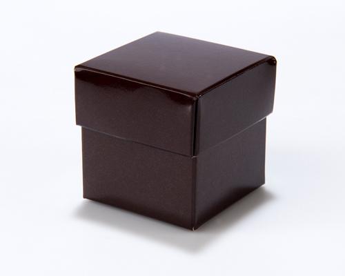 Cubebox 50x50x50mm Chocolat laque