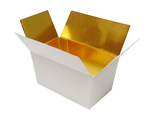 Ballotin, 375 gr. Whiteshine - gold