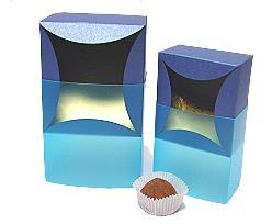 bilbao small 80x80x50mm bluetwist/blue