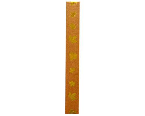 DoubleFaceSatin herfst 25mm/100mt copper