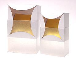 bilbao large 100x100x70mm crystal/neutral