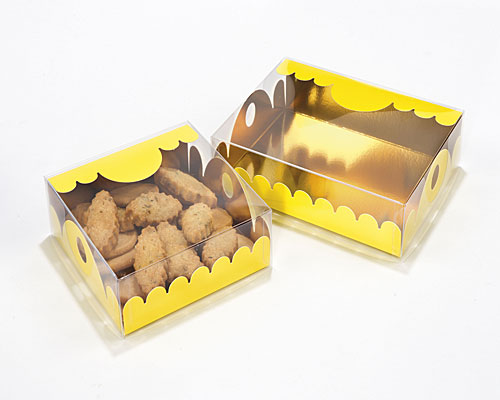 box Marquis square small jaune laque