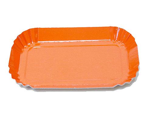 Bordje rectangular 80x40mm orange