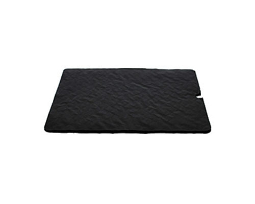 Cushion pad 165x165mm black