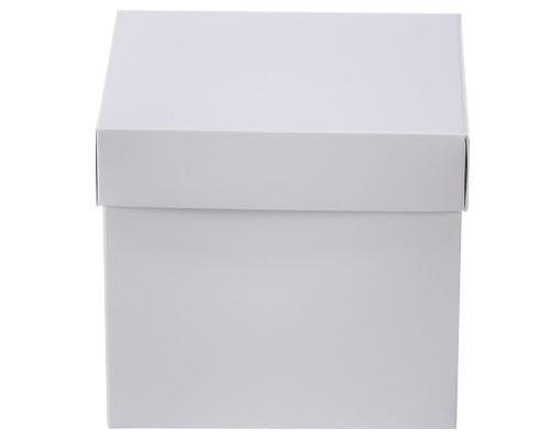 Cubebox 100x100x95mm Duomat white- Shiny white