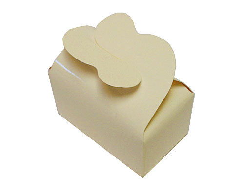 Box 2 choc butterfly closing creme laque