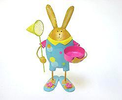 Rabbit tealight 4 ass.
