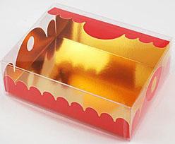 box Marquis rectangular large rouge laque