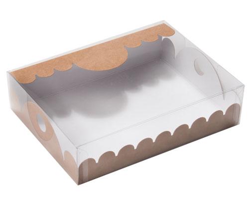 box Marquis rectangular large kraft-brown