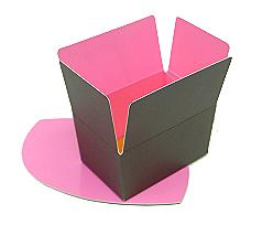 Ballotin, 125gr. Duo Hollywood taupe-pink