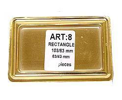 no. 8 rectangular / price per 10.000 pcs