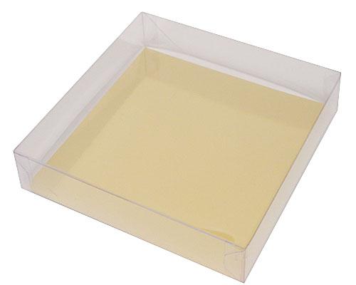 PVC L150xW150xH30mm transparant