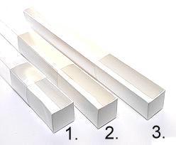 truffelbox 12 339x30x30mm white shine