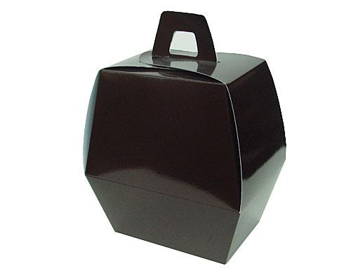 Easteregg box L no 4 chocolat laque