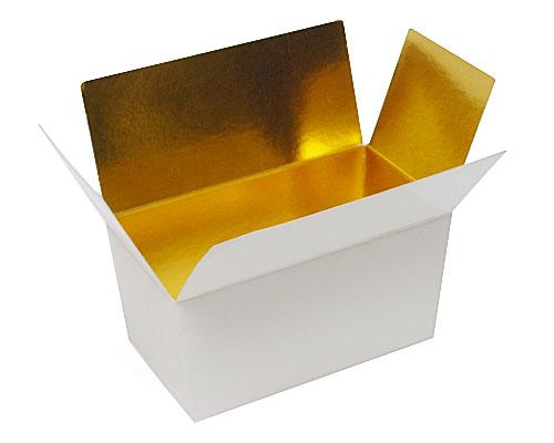 Ballotin, 250 gr. Whiteshine - gold
