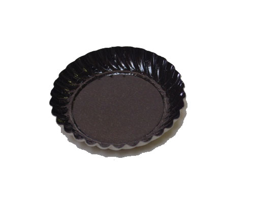 Bordje rond dia 55mm brown