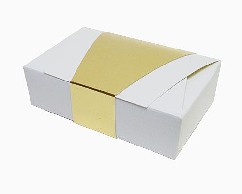 Ballotin enveloppe 142x90x35mm white shine
