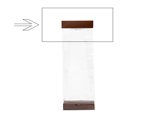 Arosa clip 100mm brown
