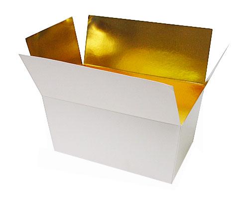 Ballotin, 1000 gr. whiteshine - gold