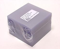 PVC sheet 63x63mm for DUO cube appr.125 gr/ pack of 200 pcs