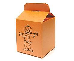 Cubebox Large Halloween orange antracite