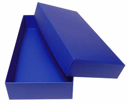 Sleeve-me box without sleeve 183x93x30mm interior ocean blue