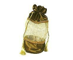 Satin bag thymegold