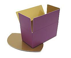 Ballotin, 1000gr. Duo Djerba purple-copper