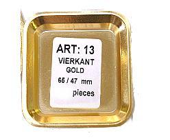 no. 13 square / price per 10.000 pcs
