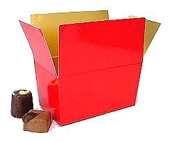 Ballotin, 250 gr. rouge laque