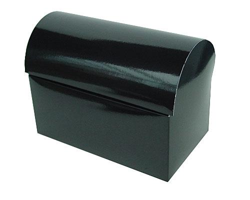 koffer 1000gr 195x115x135mm noir laque