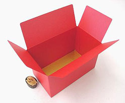 Ballotin, 750 gr. red