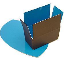 Box 2 choc, Duo Kreta brown-blue