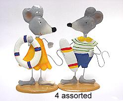 summermouse set of 4 assorted
