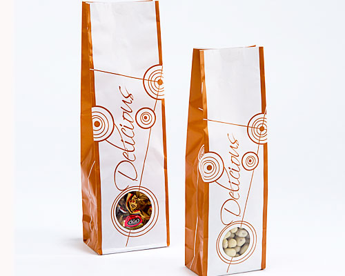 Laminated designbag Delicious Terra appr. 100 grams